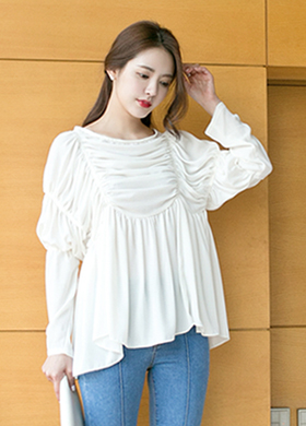 아이비 blouse (3color)